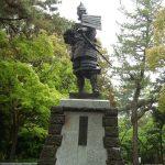 清州古城跡にある信長像