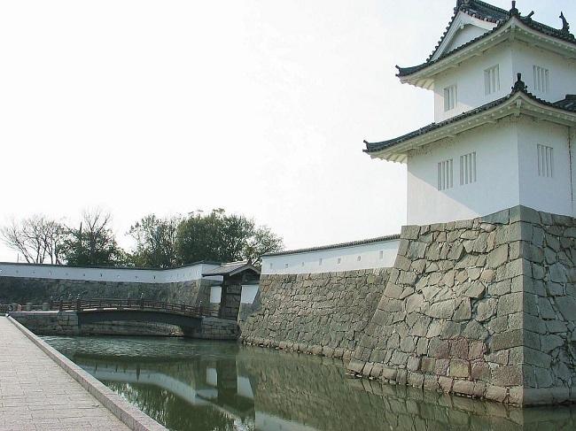 赤穂城:赤穂浪士による吉良邸討ち入りで有名な浅野内匠頭(浅野長矩)の居城