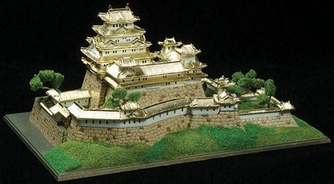 姫路城プラモデル通販