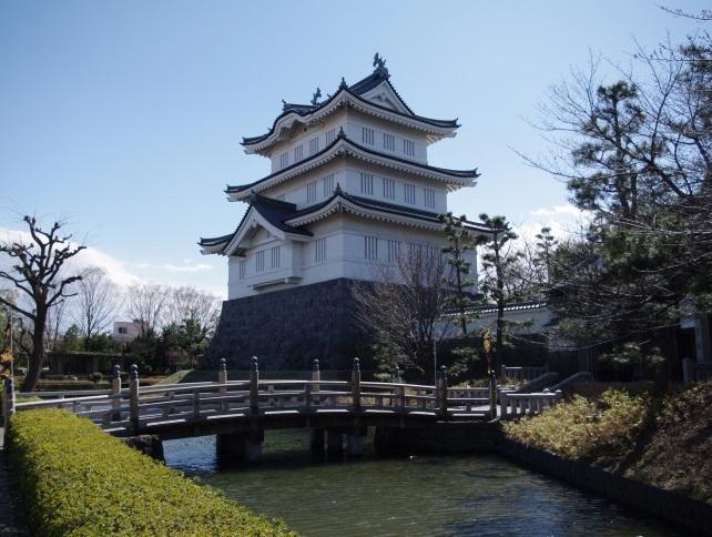 成田長親が籠城した忍城(のぼうの城)