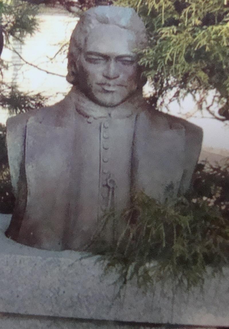 ペリー提督:日本開国の親書を携え来航 黒船と呼ばれたペリー艦隊下田来航記念碑【史跡銅像 日本の歴史】